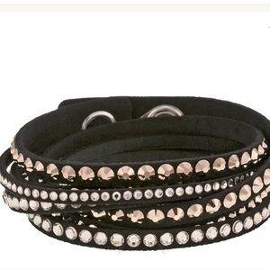 Swarovski Crystal SLAKE Deluxe Wrap Bracelet